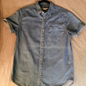 👕Urban outfitters Men's Denim button up
